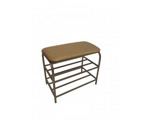 Банкетка - пуф для прихожей 40 см с мягким сиденьем