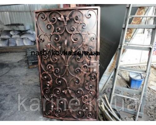 Дверь кованая металлическая