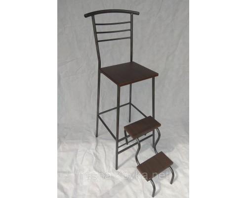 Барный стул стремянка венге