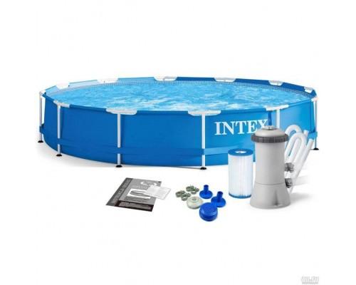 Каркасный бассейн Intex 28212 с фильтром, 366 x 76 см (2 006 л/ч)