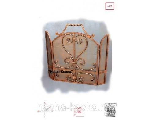 Декоративная решетка для камина