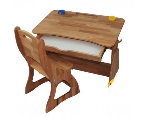 Комплект детская парта растишка и стульчик Моблер