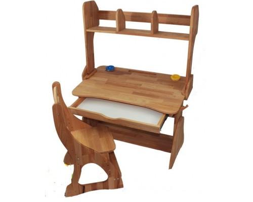 Комплект детской мебели : Парта с надстройкой + стул