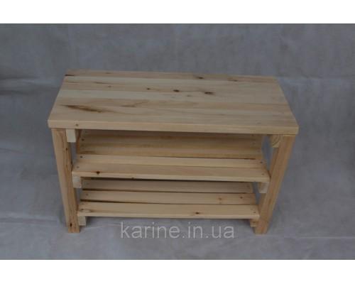 Банкетка в прихожую 1 м деревянная