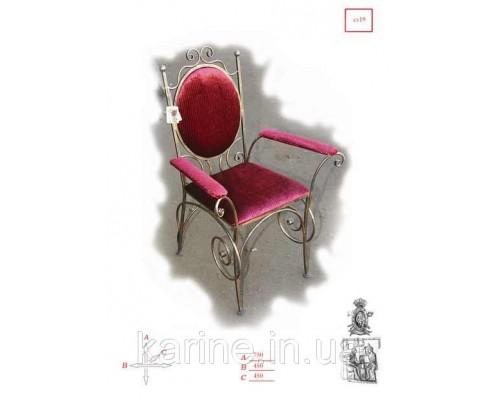 Кресло кованое ручной работы