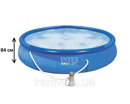 Семейный наливной надувной бассейн Easy Set 28158, 457*84