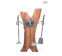 Кованый набор аксессуаров для камина